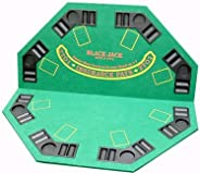 Poker Supplies Professional Casino Style PREMIUM Blackjack Set - Play Blackjack at Home!
