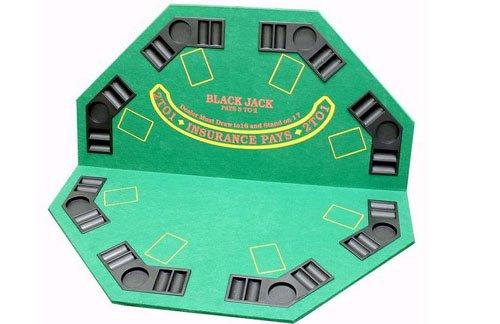 2-in-1 Poker / Blackjack Table Top by JPC