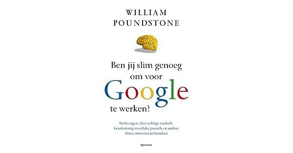 Amazon.com: Ben jij slim genoeg om voor Google te werken ...