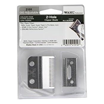 Wahl Professional Adjustable Clipper Blade set  2191 – For 5 Star Senior 4032e2dc97