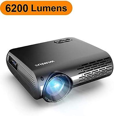 Proyector, WiMiUS 6200 Lúmenes Proyector Full HD 1920x1080P Nativo ...