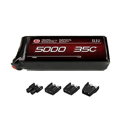 Venom 35C 3S 5000mAh 11.1V LiPo Battery with Universal Plug (EC3/Deans/Traxxas/Tamiya)