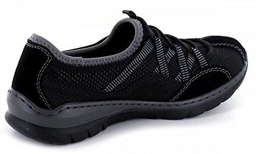 Rieker Damer L3251 Sneakers Sort (sort / Sort / Sort / Sort 00) 3Af0myK