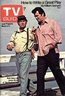 TV Guide March 6-12, 1976 (Noah Beery and James Garner of The Rockford Files; How to Write a Great Play; The Johnny Carson Bombshell, Volume 24, No. 10, Issue #1197)