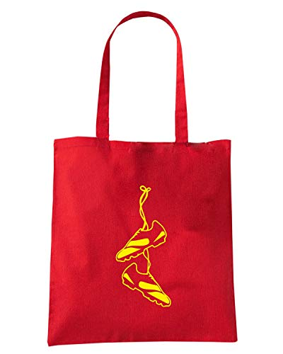 Speed Shirt Borsa Shopper Rossa WC1483 SOCCER SHOES MAGLIETTA