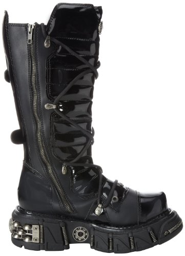 Size 3006 Vegan Dma Demonia Leather Blk 7 Uk 40 Eu TCxTFPvwg