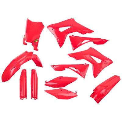 Cycra Plastic Kit (Cycra Powerflow Complete Body Kit Red for Honda CRF450R 2017-2018)