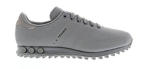 hot sale online 402a2 445ea adidas La Trainer Weave - Zapatillas para Hombre Gris Grey Grey Black,  Color Gris, Talla 44 EU  Amazon.es  Zapatos y complementos