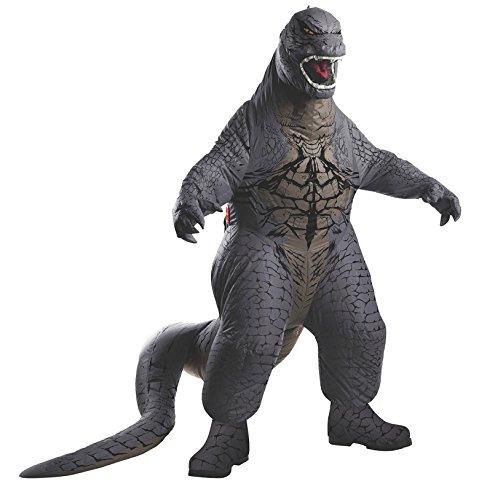 Rubies Godzilla Deluxe Inflatable Child Costume, Child Standard/Medium