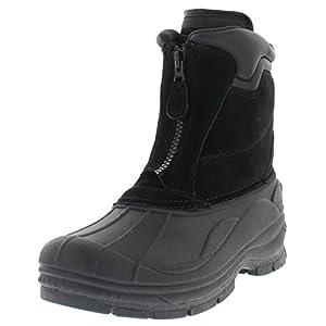 Weatherproof Mens Trek Front Zip Snow Boot