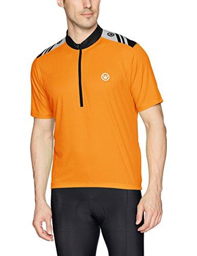 CANARI Men's Hi-Viz Jersey, Solar Orange, Large