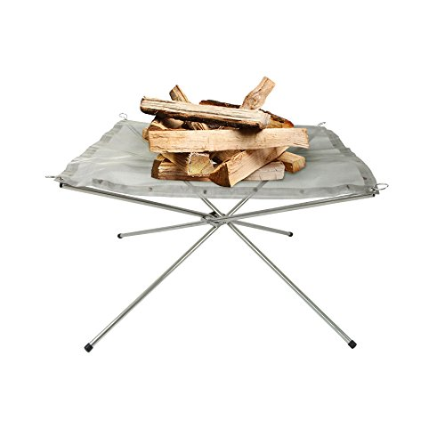 Portable Outdoor Fire Pit made our list of Campfire Cooking Equipment You Can't Live Without with the best tools, accessories, utensils and cookware for your camp cooking creations!