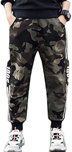 子供服 ミリタリー ズボン 伸缩性 通気性 個性 スタイル カジュアル 韓版 ファッション ゆったり スウェットパンツ