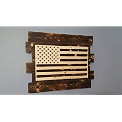 American Flag Wooden Wall Decor