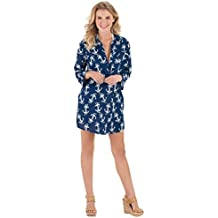 Mud Pie Mom and Me Kelli Shirtdress Cover-Up Navy Rope Anchor