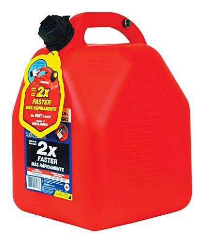 Scepter 10445 Gas Can Vented 5 Gallon Hi-Flo ()