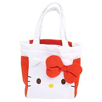 K Company Sanrio Hello Kitty Mini Plush Tote Bag  Amazon.co.uk  Toys   Games 1821fb6539