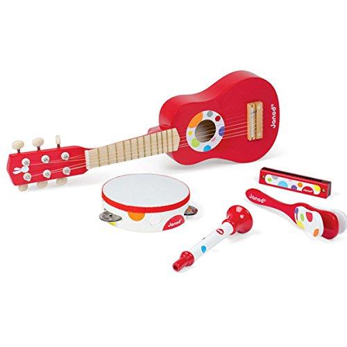 Janod - J07626 - Set musical confetti Bois Bois