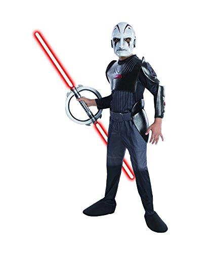 Rubie's Star Wars Rebels Deluxe Sith Inquisitor Costume, Child Medium -