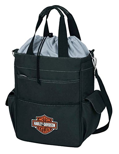 Harley-Davidson Activo Insulated Cooler Tote, Bar & Shield Logo, Black 614-00