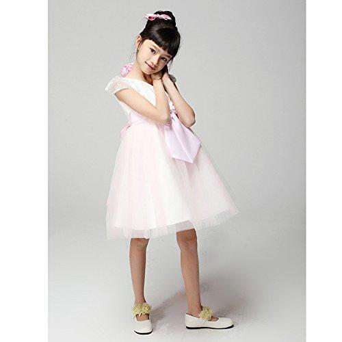 Fille Demoiselle De rose Enfant Robe Princesse Beige wR5TIcOwqd