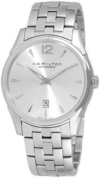 Hamilton Men's Slim Silver Dial Watch