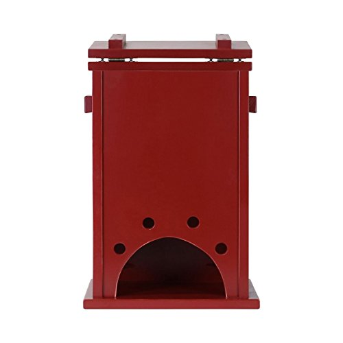 Personalized Custom Engraved Pine Pet Toy Box Storage Organizer, Birthday gift for Dogs, Daughter, Sons, Boys and Girls, Grandchildren, Made in USA By Rooms Organized (Red) by Rooms Organized (Image #3)