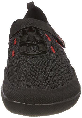 Sole Runner FX Trainer 4, Scarpe Stringate Derby Unisex – Adulto Nero (Black/Red)