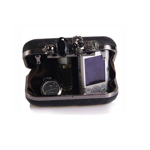 Dayiss , Pochette pour femme Noir Noir 15x6x11cm (5.9x2.36x4.33inches)