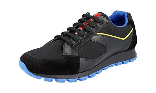 Prada Mænds 4e2932 Stof Sneaker i15PUUZv