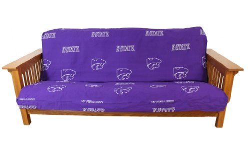 College Covers Kansas State Wildcats Futon Cover - Full size fits 6 and 8 inch mats by College Covers