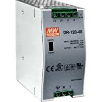 PLANET 120W 48V DC Single Output Industrial DIN Rail Power Supply (-10 ~ 60 degrees C) / PWR-120-48 /