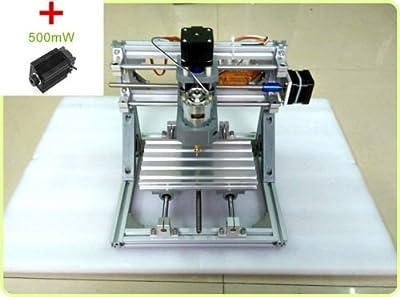 TOPCHANCES TOPCHANCES CNC DIY Mini Engraving Machine Arduino 3 Axis 7000r/min with 500mW Laser Head