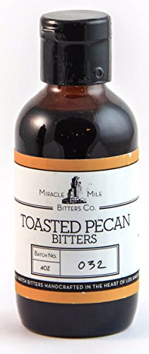 Miracle Mile Toasted Pecan Bitters 4 oz (Pecan Toasted Pie)