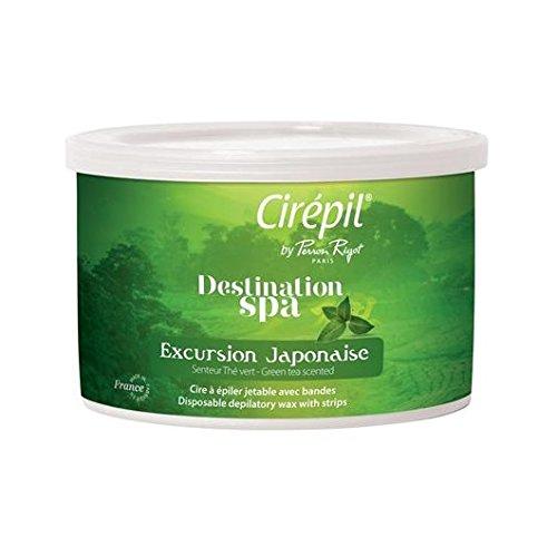 Cirepil Excursion Japonaise Green Tea Wax Tin (Green Wax)