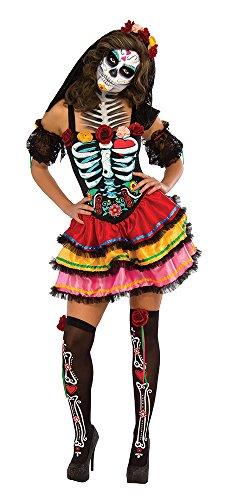 Rubie's Women's Day Of The Dead Senorita Costume, Multicolor, Small