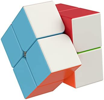 The Amazing Smart Cube [IQ Tester] 2×2 – Anti Stress for Anti-Anxiety Adults Kids – Best Puzzle Toy Turns Quicker and More Precisely
