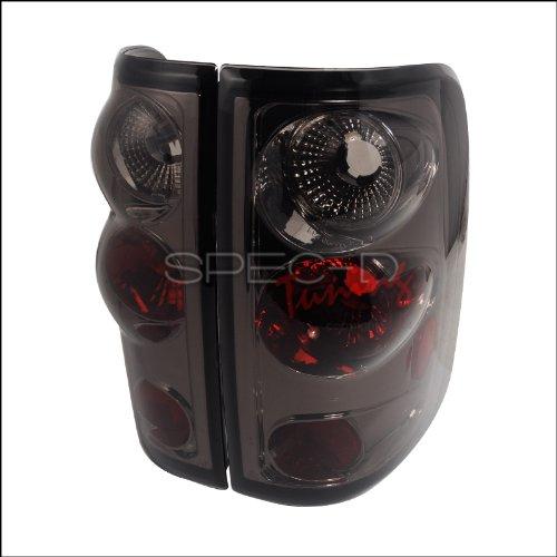 (Spec-D Tuning LT-F15004G-TM Ford F150 Smoke Tint Chrome Altezza Tail)