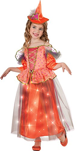 Light Up Sweetheart Witch Costume, Medium