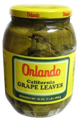 Orlando - California Grape Leaves, (2)- 16 oz. (Leaf Relish)