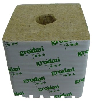 Rockwool Grow Cubes (DM 32G 40 /40) 6 in X 6 in X 5 5 in