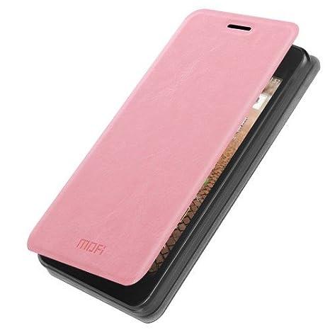 Para HUAWEI Y635 Mofi rosa carcasa funda de piel sintética ...