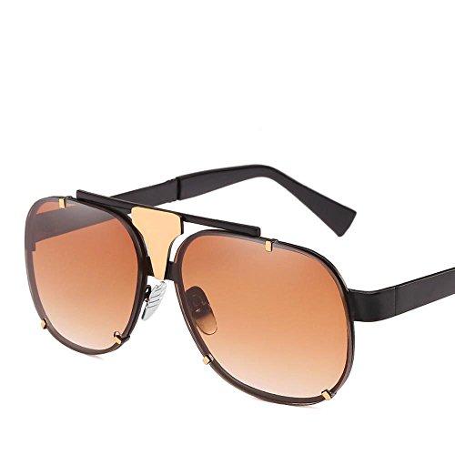 de de Axiba Marco Europa Personalidad los Gafas protección de Unidos de Hombres E UV400 Sol Sol Metal Gafas y Marea Sol Gafas Estados creativos Las la Regalos rr7Hx1dqw