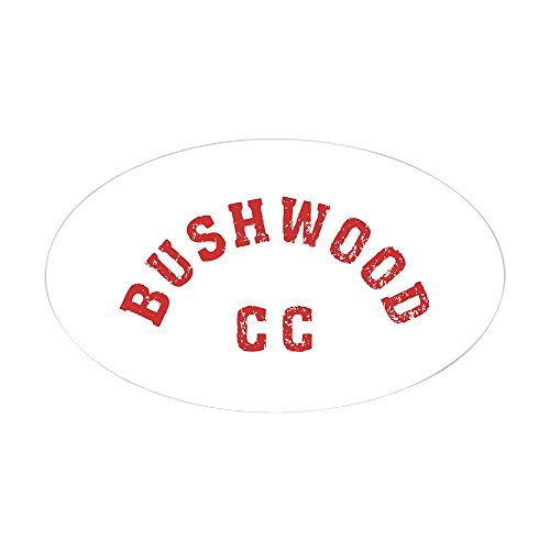 [CafePress - Bushwood Country Club Oval Sticker - Oval Bumper Sticker, Euro Oval Car Decal] (Easy Pop Culture Costumes)