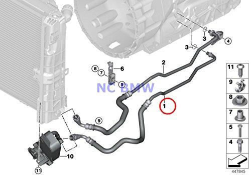 BMW Genuine Heat Exchanger Oil Cooling Pipe Inlet 135i 135i 335i 335i 335i 335i 335is 335i 335i 335is