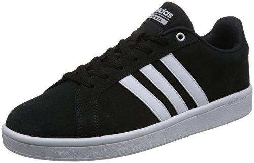 adidas CF Advantage, Scarpe da Ginnastica Uomo Nero (Core Black/Ftwr White/Matte Silver)