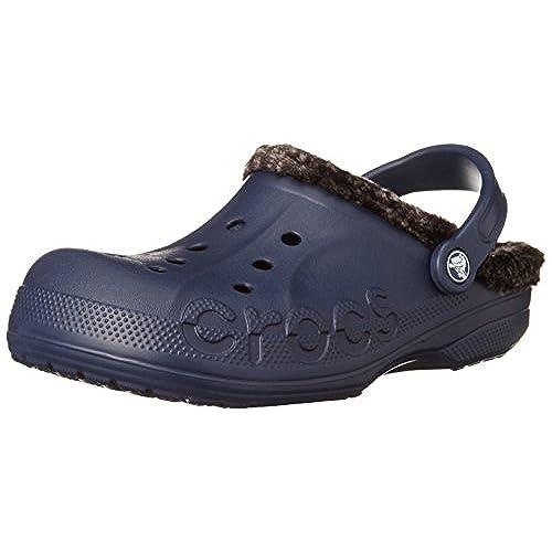 90d4569b3a27 best Crocs Unisex Baya Heathered Lined Clog ( Mens 6