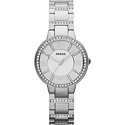 Fossil Es3282p Virginia Stainless Steel Watch Watch For Women by Fossil