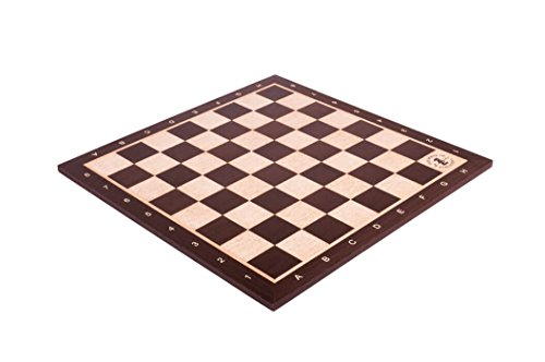 The House of Staunton African Palisander & Maple Wooden Chess Board - 2.5