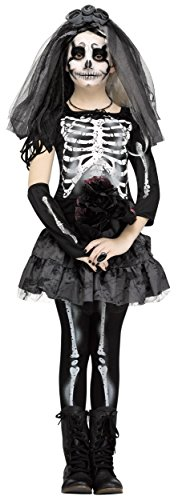 Skeleton Bride Kids Costume (Skeleton Bride Costumes)